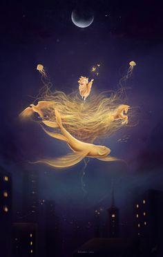Guardian Of Dreams by HelenKei.deviantart.com on @deviantART