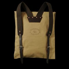 UNIONMADE - Duluth Pack - Canoe Pack in Khaki