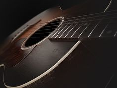 Gibson 1937 L-00 Acoustic Guitar on Behance. 3D model created in 3ds Max rendered with VRay.