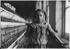 Lewis Hine. One of the spinners in Whitnel Cotton Mill, December 1908. National Archives via Flickr.