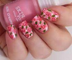 Image result for wonderful portfolios  #image #portfolios #result #wonderful Rose Nail Art, Floral Nail Art, Pink Nail Art, Pink Nails, Rose Nails, Flower Nail Designs, Nail Designs Spring, Nail Art Designs, Nails Design