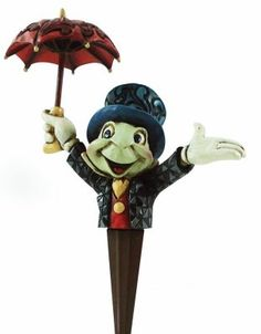 Enesco Disney Traditions by Jim Shore Jiminy Cricket potted plant decorative figure (cachepot) from Fantasies Come True