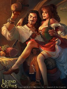 Viktor Titov  (he looks like Captain Morgan - the only pirate I'm down with!)