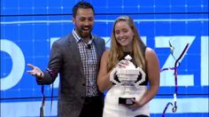Oliva Hallisey, a 16-year-old from the United States, won the 2015 Google Science Fair with her project to develop a fast, cheap, and stable test for the Ebola virus, which she says gives easy-to-read results in less than 30 minutes — potentially before someone is even showing symptoms.