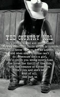 The country girl!