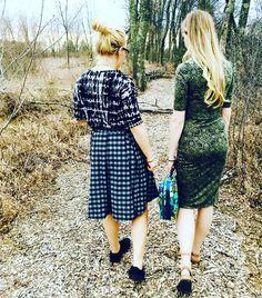 9ced02aba55a LuLaRoe Madison LuLaRoe Irma LuLaRoe Julia Walk in the woods with my niece  Madison Lularoe