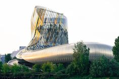 Probably the best wine museum in the world just opened in France. Interactive, innovative and quite brilliant, Bordeaux Museum of Wine is very fine indeed! Bordeaux Wine, St Emilion, The Good Place, Life Is Good, Places To Visit, France, Exterior, World, Building