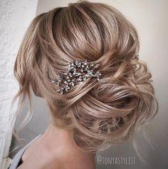 30 Inspiring Wedding Hairstyles By Tonya Stylist - Coiffure Sites Wedding Hairstyles For Long Hair, Wedding Hair And Makeup, Bride Hairstyles, Trendy Hairstyles, Bridal Hair, Weave Hairstyles, Hair Wedding, Hairstyles 2018, Hairstyle Ideas