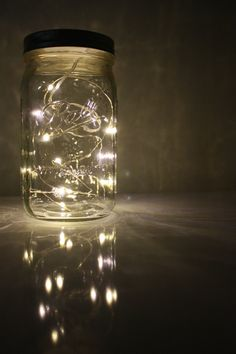 Revamped Lamps, Revamped Listing. Nostalgic Firefly lantern  Mason Jar  Whimsical  by ShelbyLea, $20.00