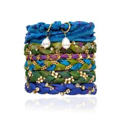 Bracelet Stack Of 6 Hawaiian from Fab on shop.CatalogSpree.com, your personal digital mall.