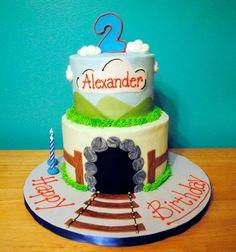 Pita1280 Thomas The Tank, Birthday Cake, Desserts, Food, Tailgate Desserts, Deserts, Birthday Cakes, Essen, Postres