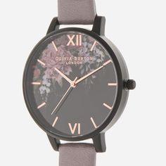 Olivia Burton Women's After Dark Watch - Grey/Lilac IP Black: Image 21