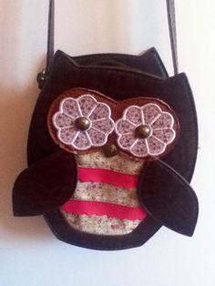 Owl bag @ claires