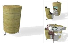 Design Pod: All Your Home Office Needs, Now in a Convenient Pod : TreeHugger