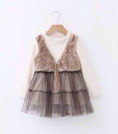 kids girl winter dress #kidswear #kidsdress #kidswears #girls #dress #winter #2014 #wholesales #kidswearschildrenclothing #yunhuigarment