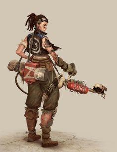 The Carcass - Flamethrower by ForrestImel.deviantart.com on @DeviantArt