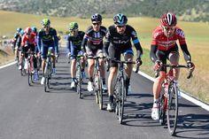 #VueltaAndalucia #RutaCiclistaDelSol2015 #Stage5 - Maxime Monfort (Lotto-Soudal) and Xabier Zandio (Team Sky)
