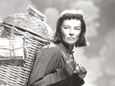 Katharine Hepburn in Dragon Seed, a film made during World War Two to show China's fight against Japan.