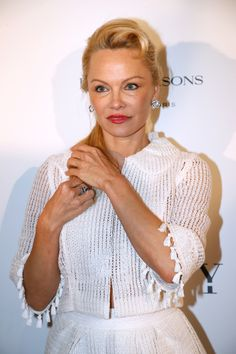 PARIS, FRANCE - MAY 16:  Actress Pamela Anderson attends the 'Global Gift, the Eva Foundation' Gala : Photocall at Hotel George V on May 16, 2017 in Paris, France.  (Photo by Bertrand Rindoff Petroff/Getty Images) via @AOL_Lifestyle Read more: https://www.aol.com/article/entertainment/2017/08/03/pamela-anderson-w-magazine/23063351/?a_dgi=aolshare_pinterest#fullscreen