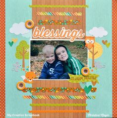 Blessings - My Creative Scrapbook - Scrapbook.com