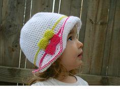 Crochet hat pattern summer floppy hat pattern crochet summer pattern baby hat pattern includes 5 sizes from newborn to adult (78). $3.99, via Etsy.