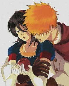 Bleach Ichigo And Rukia, Bleach Anime, Bleach Fanart, Manga, Cute, Crossover, Strawberry, Death, Ships