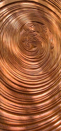 Layered veneer carved panel is a layer wood product