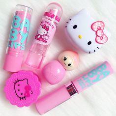 ❤ Baby Lips Ve Hello Kitty ❤