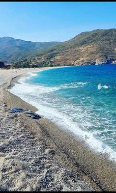 Potami beach, south Evia, Greece Greek Islands, Greece, Beach, Places, Water, Outdoor, Greek Isles, Greece Country, Gripe Water