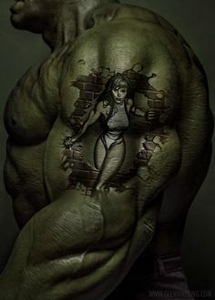 The beauty and... HULK