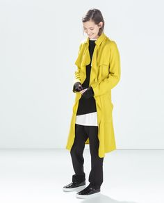 Image 1 de TRENCH FLUIDE de Zara