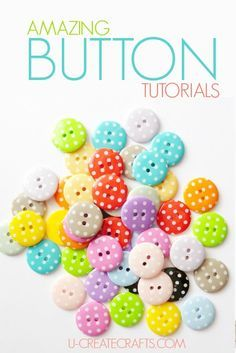 """Button Tutorials Here are some really FUN ways to use up those buttons lying around the house by Are is the second-person singular and plural forms of the verb """"to be"""", the copula of the English language. Are, ARE or Åre may also refer to: Art And Craft, Diy Arts And Crafts, Crafts To Do, Diy Craft Projects, Sewing Projects, Crafts For Kids, Card Crafts, Disney Button Art, Disney Buttons"""