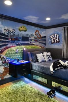 Sports room ideas