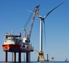 deepwater wind, us first offshore wind farm, america's first offshore wind farm, us offshore wind farm, block island wind farm, rhode island wind farm, rhode island, new york, maryland