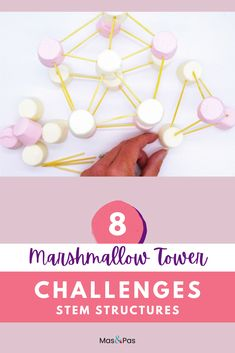 This is a great idea for a fun indoor STEM activity for kids! You only need marshmallows and toothpicks to create this tower building learning activity for kids. #STEMactivity #STEMforkids #funforkids #indooractivitiesforkids #indoorfunforkids Elementary Education Activities, Fun Activities For Toddlers, Preschool Learning Activities, Preschool Science, Fun Crafts For Kids, Toddler Crafts, Preschool Activities, Diy For Kids, Stem Structure