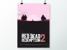 Red Dead Redemption 2 Fan Art  by Simon Wood #Design Popular #Dribbble #shots