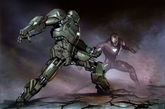 Epilogue (bear1na: Iron Man concept art by Adi Granov *)