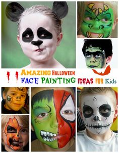 If you are looking for cool Halloween Face Painting Ideas for kids then look no further. Here are 11 of our favourite easy ideas for your trick or treaters.