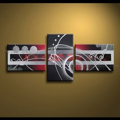 Hand Painted Elegant Modern Abstract Painting Wall Art Artwork Pictures