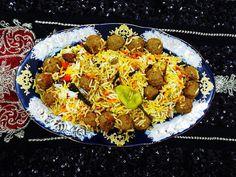 Cuisine of Karachi: Kofta Biryani کوفتہ بریانی