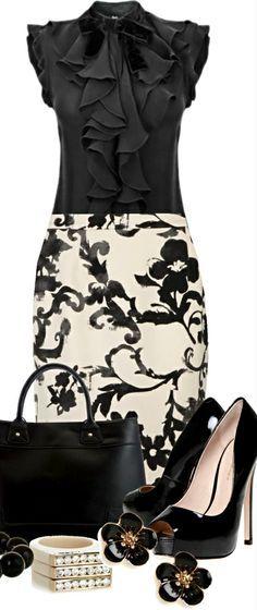 Moschino Cheap zipper skirt ● Kurt Geiger pumps