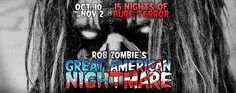 rob zombie halloween concert | Rob Zombie's Great American Nightmare to bring three new haunted ...