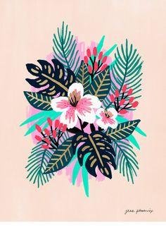 Paradise Print - LEIF