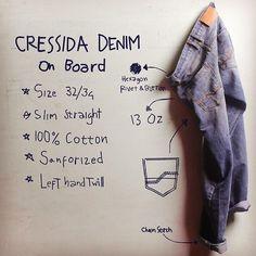 Cressida Denim #pants #denim #shop #campaign #board #mapping