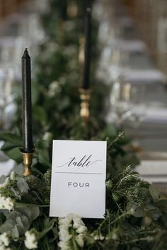 Lush garland table decor   Image by Page & Holmes