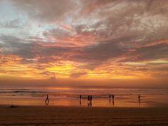 The Beach north of Legian, Bali, Indonesia in Bali, Bali