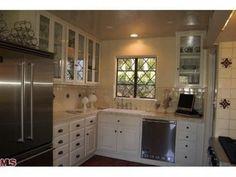 Kitchen of 1929 Spanish Revival house on Los Feliz Blvd., Los Angeles