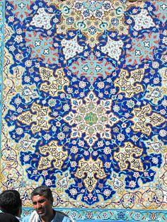 Walls of Yazd, Iran ::Islamic Arts and Architecture Islamic Architecture, Beautiful Architecture, Art And Architecture, Islamic Tiles, Islamic Art, Arabesque, Iran, Turkish Art, Turkish Tiles