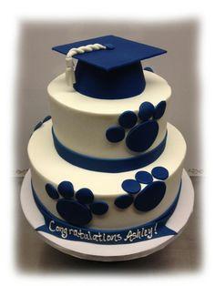 penn state graduation cake - Google Search