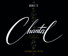 logo and label design for sparkling wine (J. García Carrión - Spain)